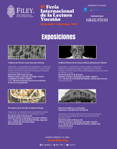 Cartel de exposiciones FILEY